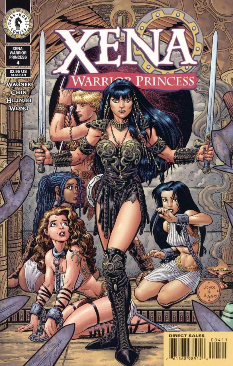 Xena warrior lesbian porn comic